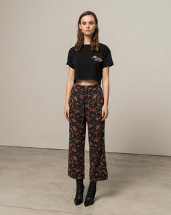 Fancy garden cigarette trousers