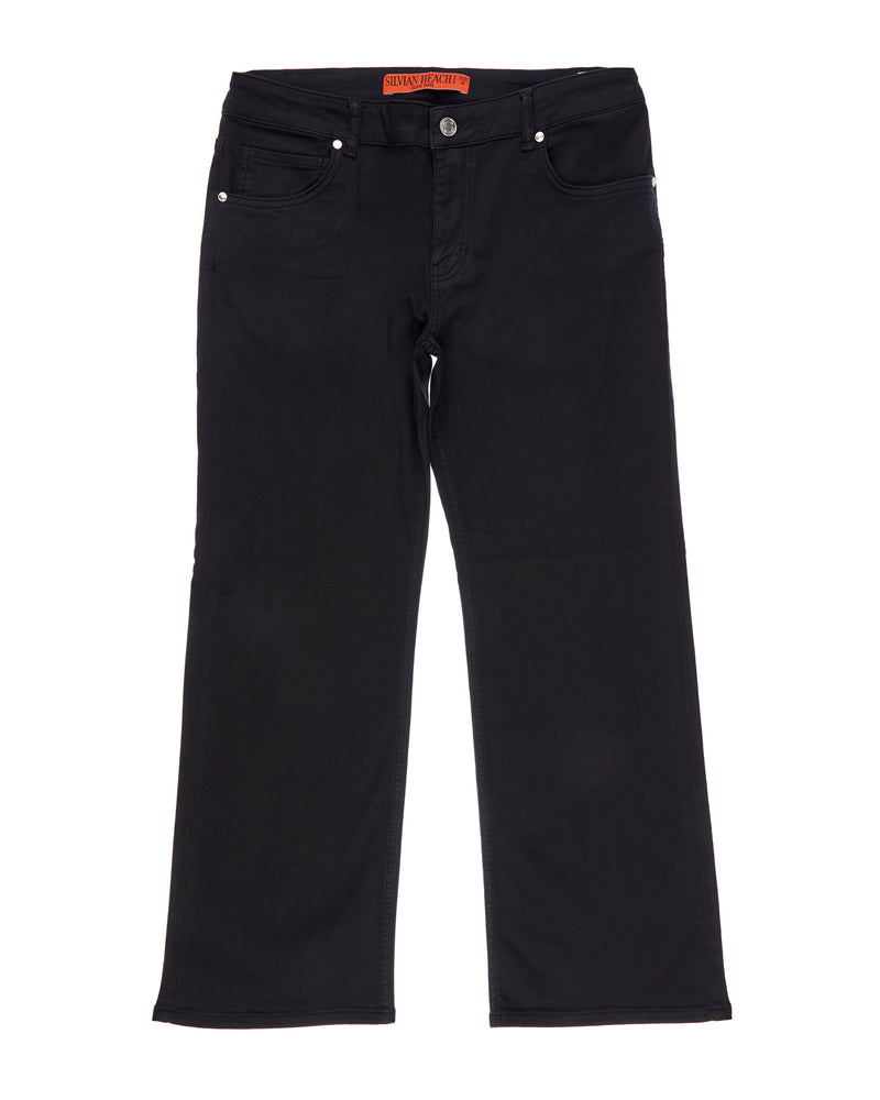 Jeans in trousers style