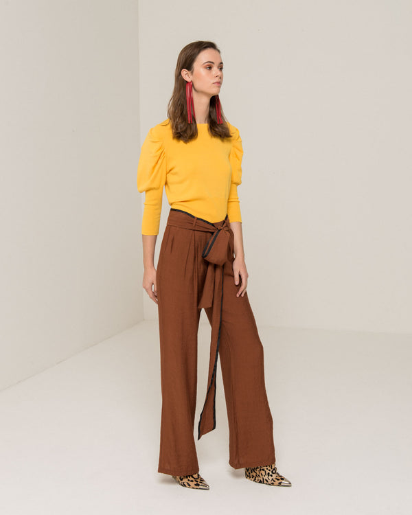 Safari style chino trousers