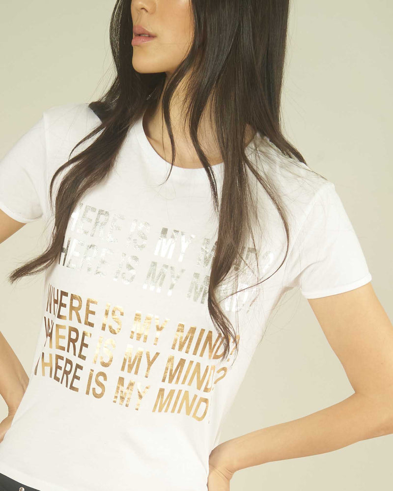 T-shirt WHERE IS MY MIND