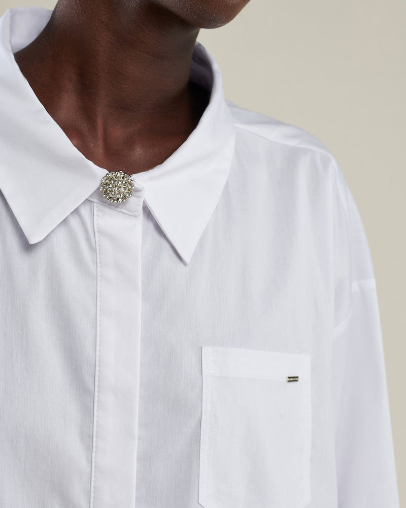 Over shirt with button