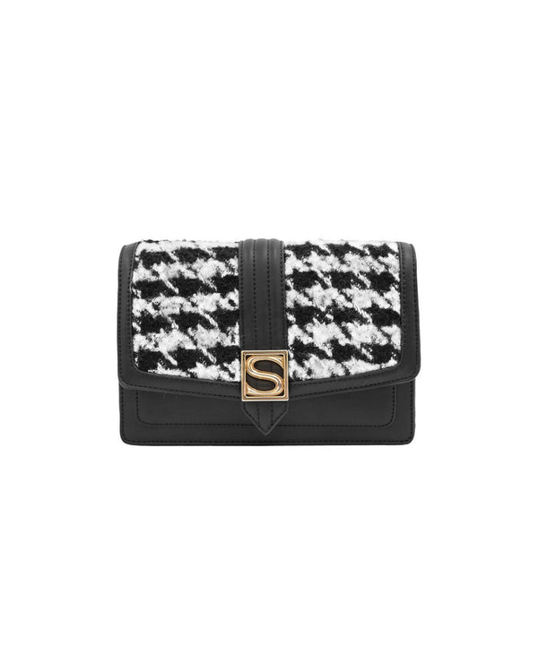 Houndstooth clutch
