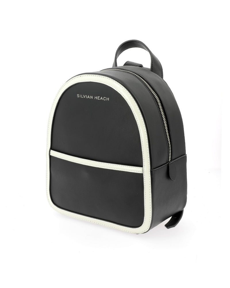 Backpack with contrasting refinements