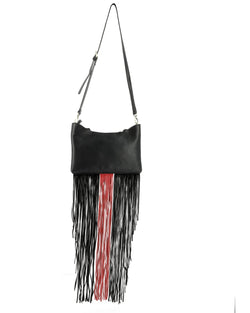Country clutch with fringes