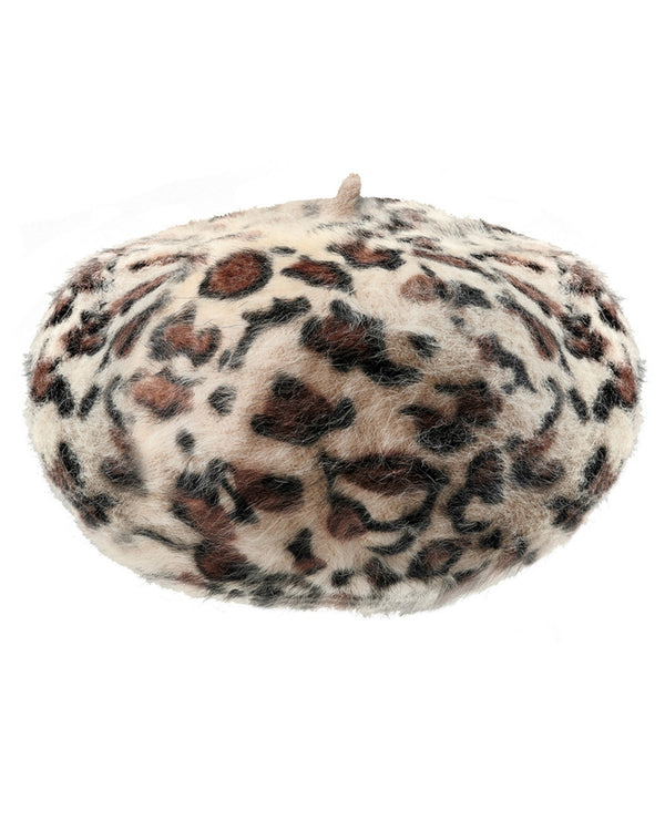 Hat with faux-fur