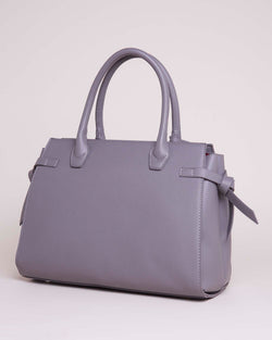 Handbag with outer pocket