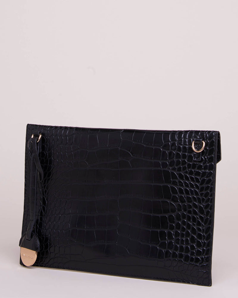 Envelope bag with chain strap