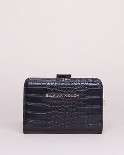 Croco effect wallet