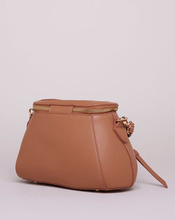 Mini satchel bag with wallet