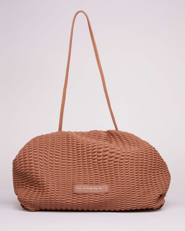 Pochette honeycomb effect