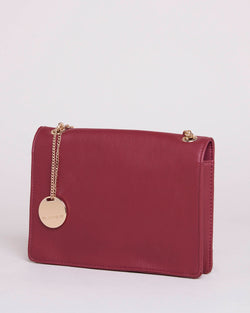 Envelope clutch with chain