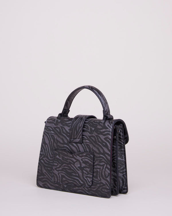 Animal pattern shoulder bag