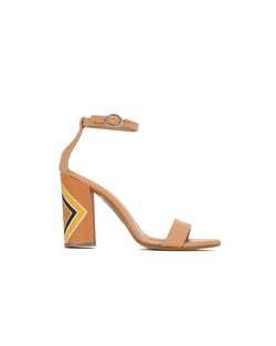 Leather sandals with thong PATACAMAYA