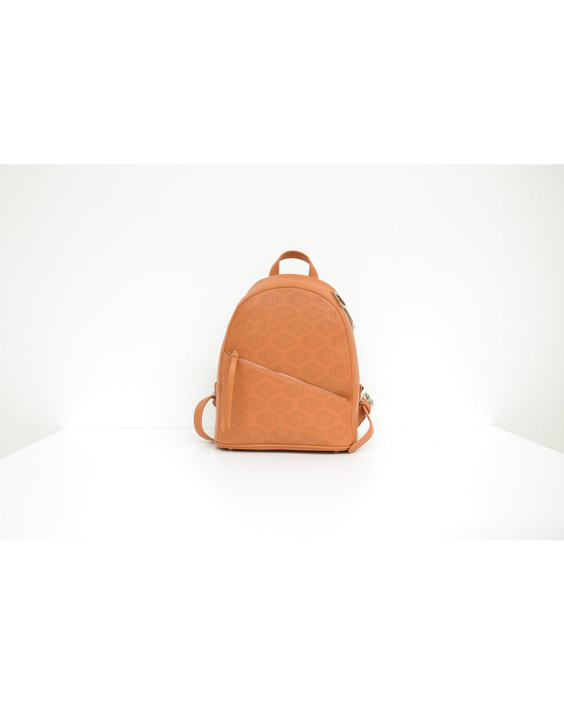 Double closure backpack