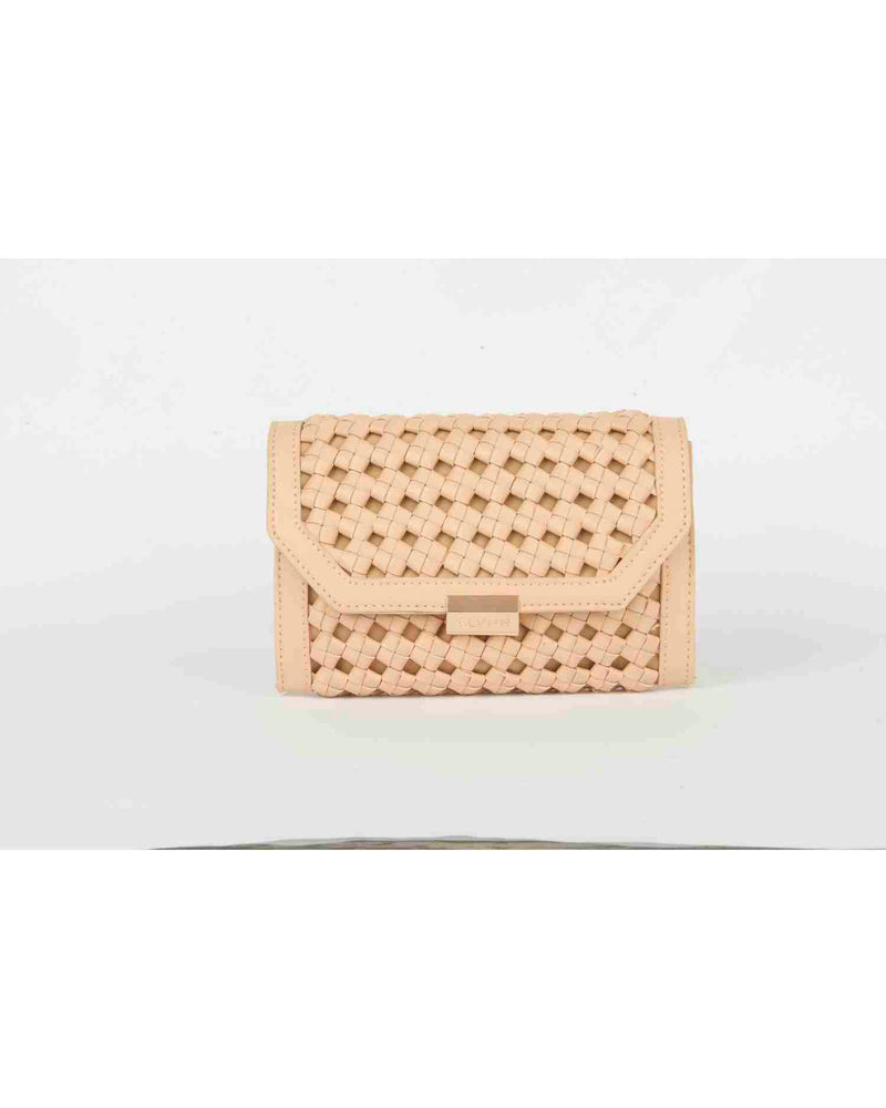 Wallet with wide weft