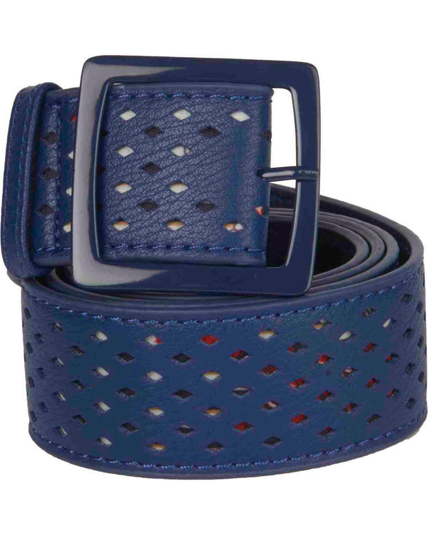 Belt with holes