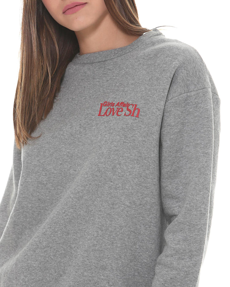 Sweatshirt with printed detail
