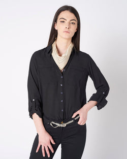 BASIC SHIRT WITH POCKETS