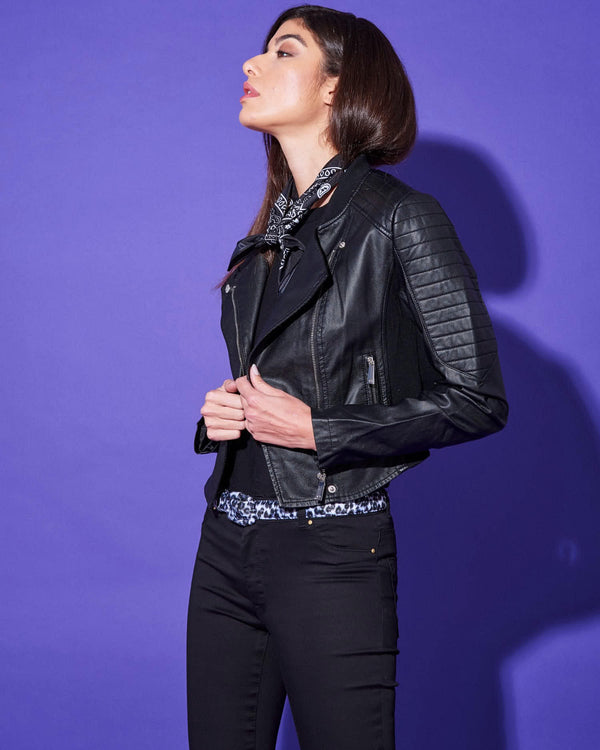 ECOLEATHER BIKER JACKET