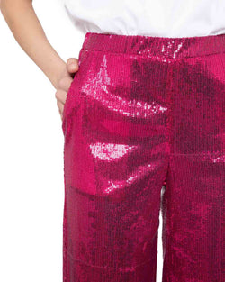 Pants with sequins SICASI