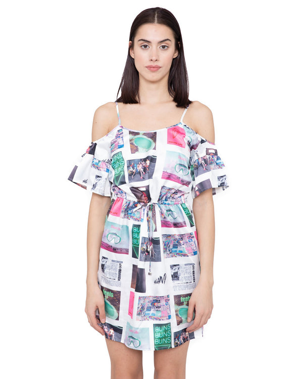 Printed dress FAIRVIEW