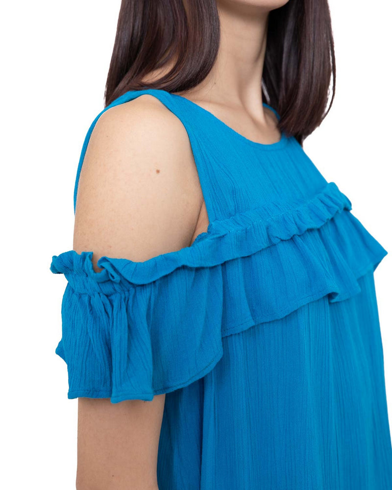Top with sigging sleeves BILZEN