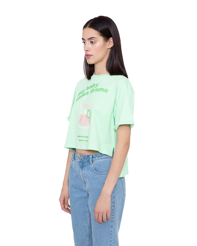 Cropped t-shirt LUCERNA