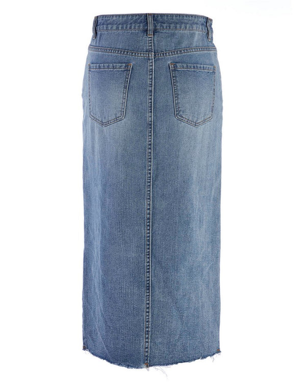 LONGUETTE DENIM CALCIDE