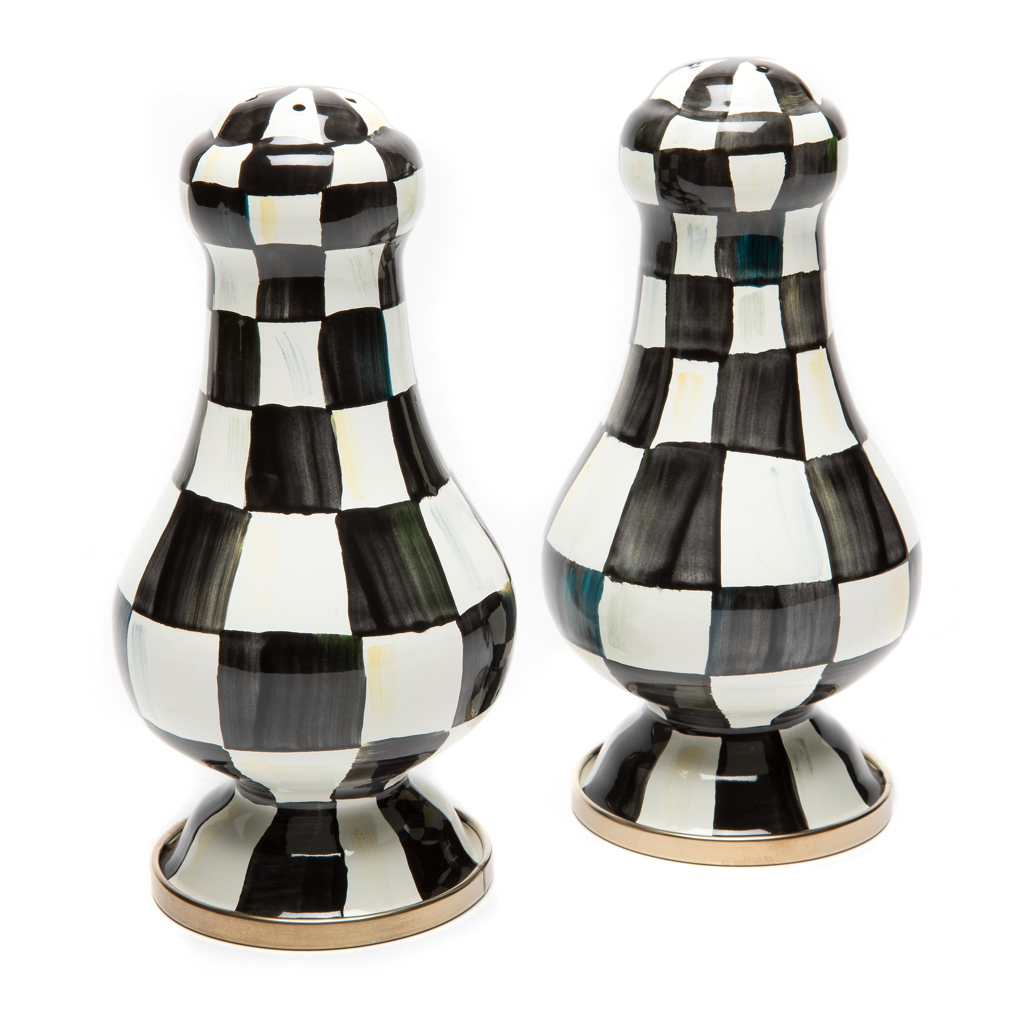 Large Salt and Pepper Shakers