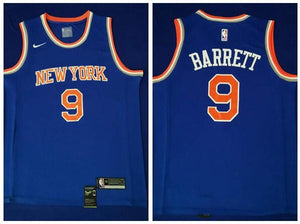 100% authentic 3a778 f5fa6 Nike New York Knicks #9 RJ Barrett Jersey Blue