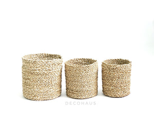 ENYA Seagrass Woven Multi Purpose Storage Basket