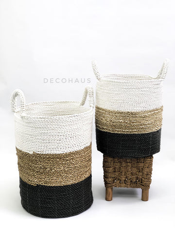 ARYA Seagrass Woven Multi Functional Storage Basket