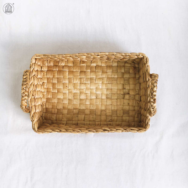 Astri Water Hyacinth Storage Tray