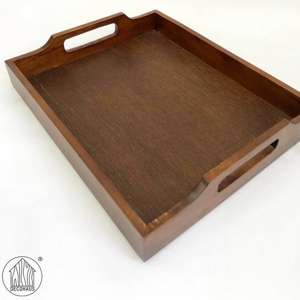 ARETA Walnut Serving Tray