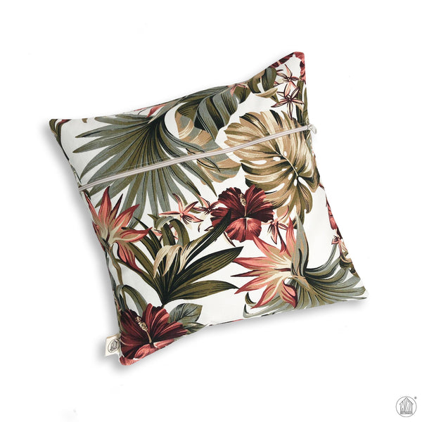 FLORA Canvas Cushion Cover