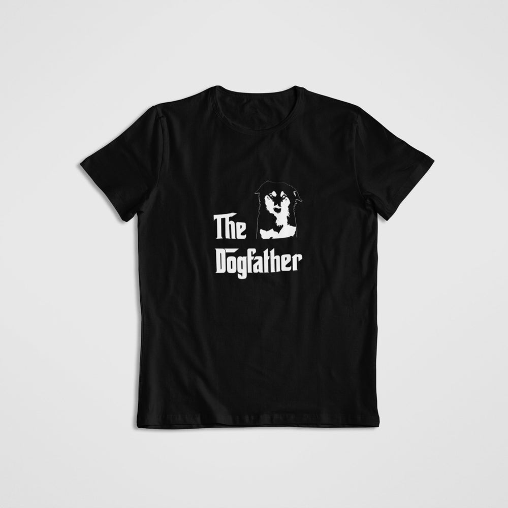 Dogfather Unisex Black T-shirt for dog lovers
