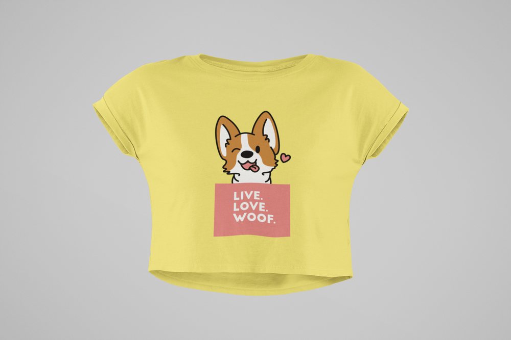Floof Live Love Woof Women's T-shirt