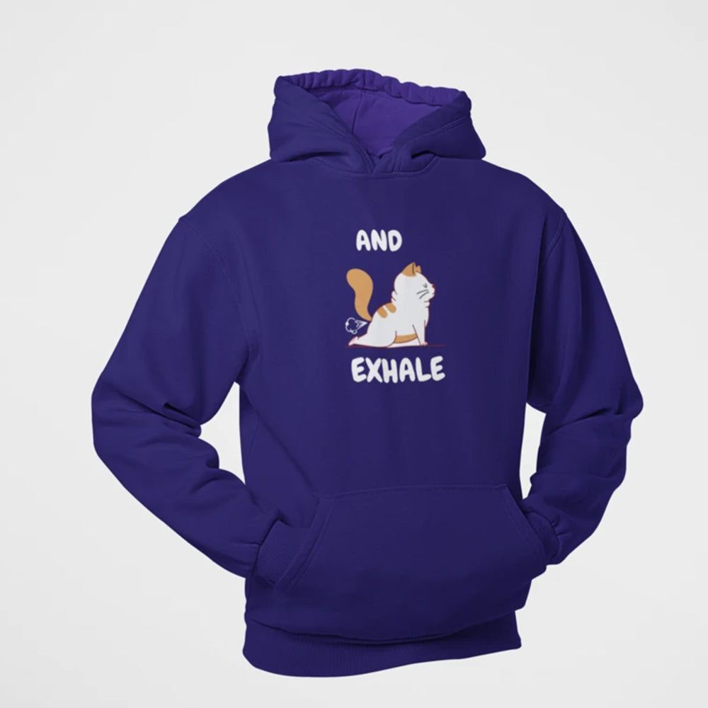 Floof And Exhale Hoodie