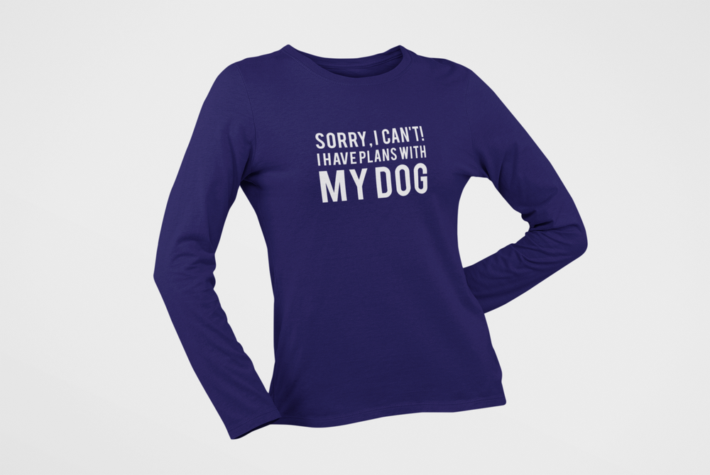 Floof Plans With My Dog Women's T-shirt
