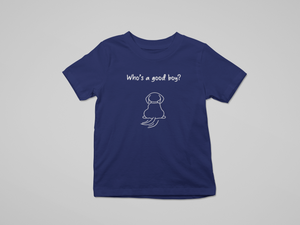 Floof Kids Who's A Good Boy T-shirt