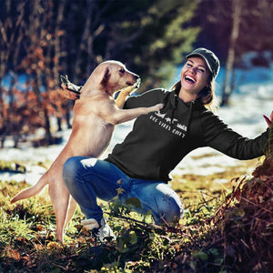 Dog vibes only hoodie for dog lovers