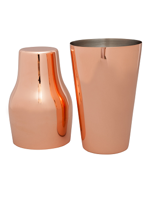 Shaker - French 600ml - Copper plate