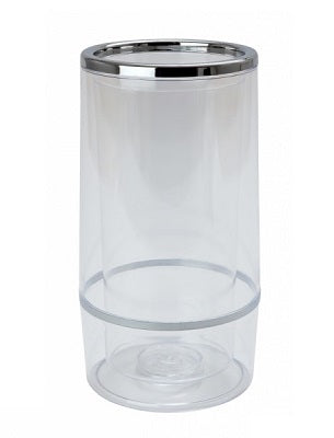 Wine Cooler - Clear Plastic