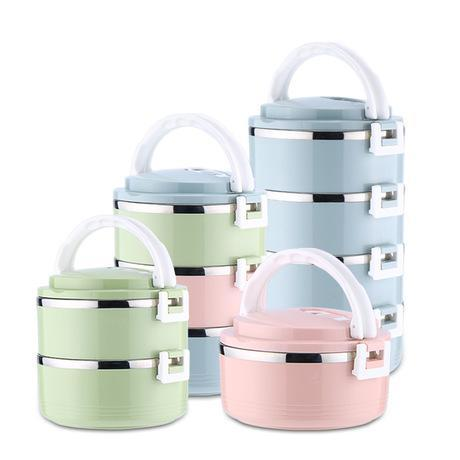Image of NEW Stainless Steel Insulation Lunch Box | School Lunch Box