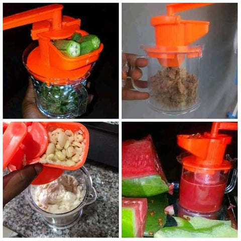 Manual Beans And Okra Grinder | Soybeans And Tiger Nuts Juicer - Ginax Store