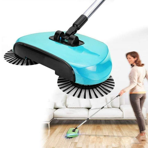 Hand Push Sweeper And Cleaner | No Electricity Vacuum Cleaner - Ginax Store