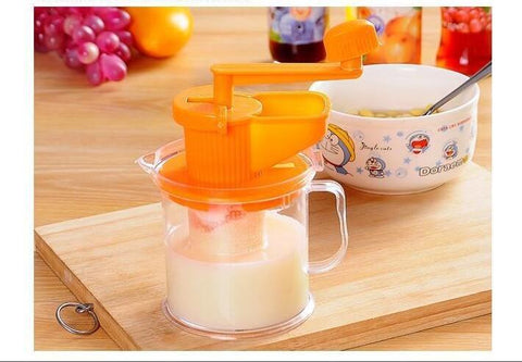 Multifunctional Manual Beans Grinder And Fruits Juicer
