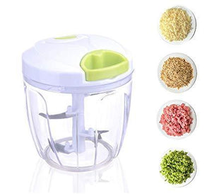 NEW Manual Vegetable And Fruit Chopper With 5 Blades | Salad Maker