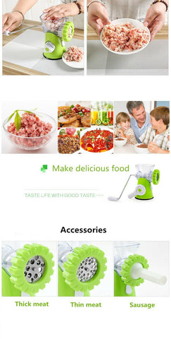 Multifunctional Meat Mincer And Vegetable Cutter