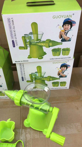 Image of Nutritional Juice Machine | Multifunctional Manual Juicer